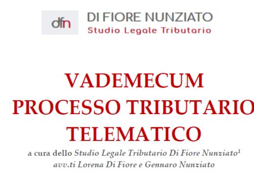 VADEMECUM PROCESSO TRIBUTARIO TELEMATICO